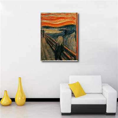 The Scream Framed Art Prints