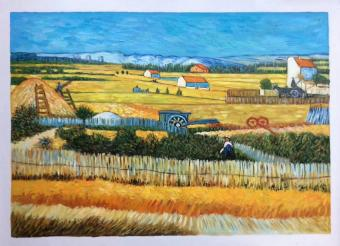 Reproduction Van Gogh The Harvest Oil Paintings