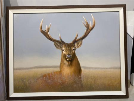 Deer Oil Painting Reproduction